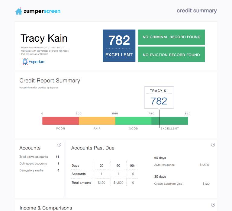 run an experian credit report